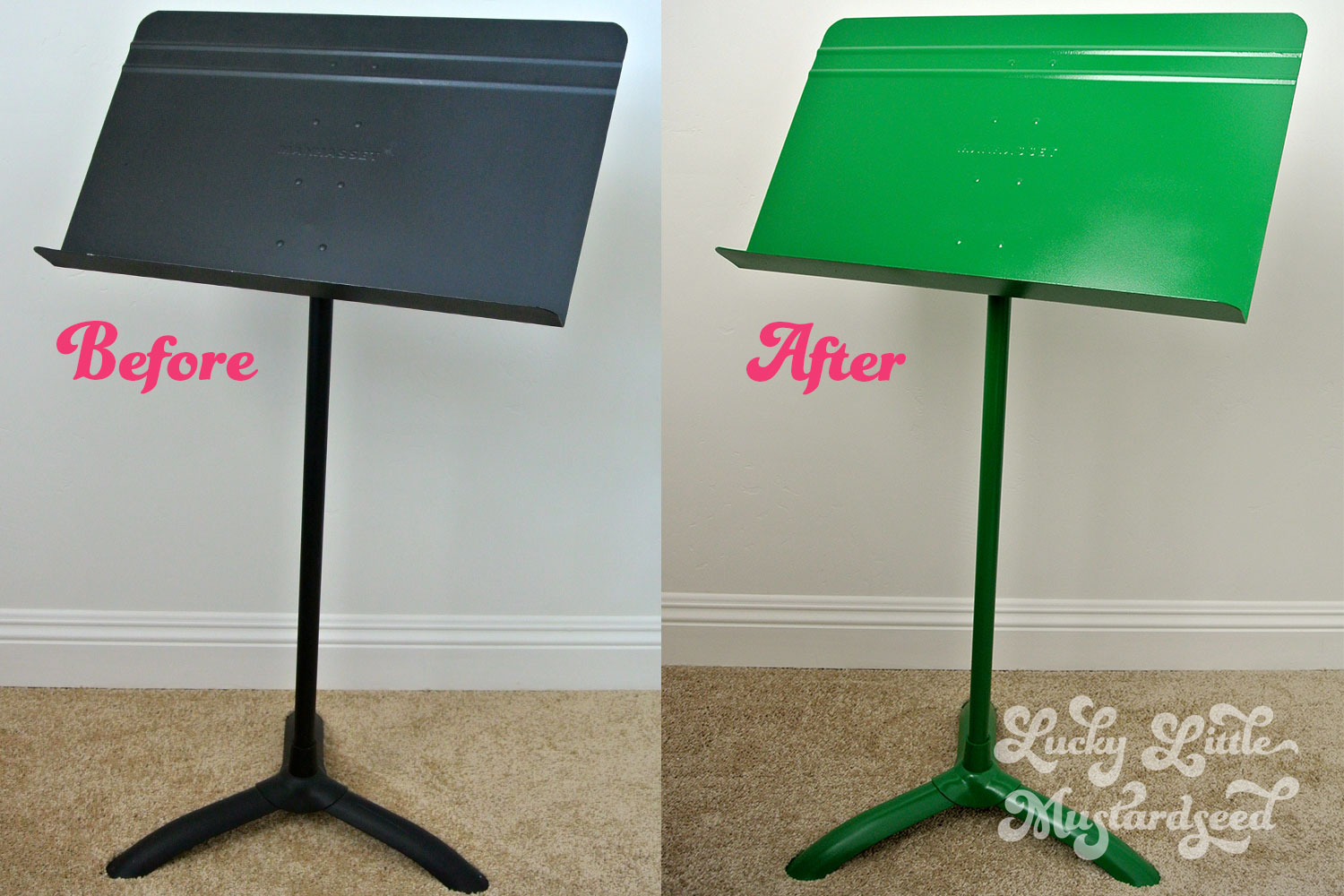 Do know many musicians with a music stand like mine?