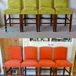 Before & After: Chair Stools