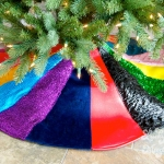 A Scrappy Tree Skirt