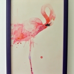"""flamingo"" by Annelie Solis"