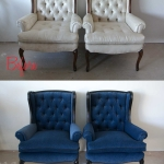 Before & After: Tufted Twins