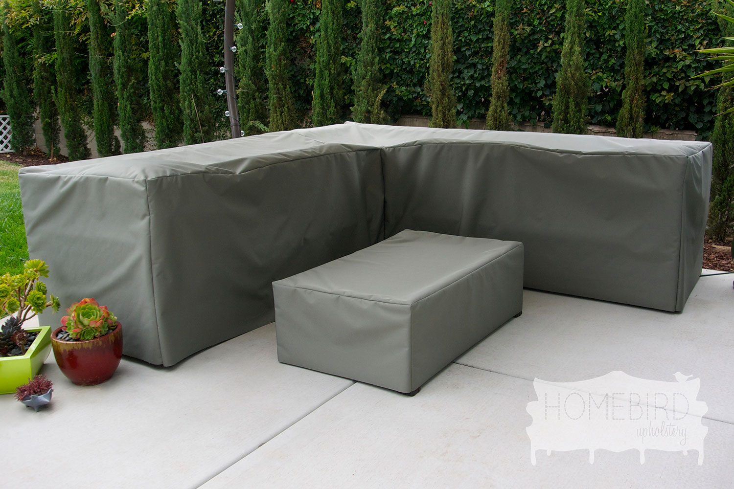 Custom order patio furniture covers lucky little for Patio furniture covers