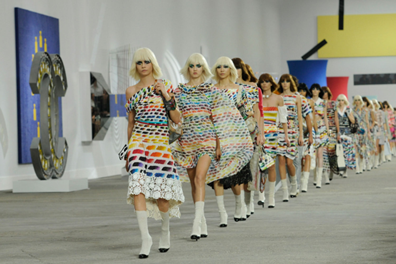 Style Crazed: Channelling Chanel Runway 2014 Example Photo