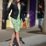 Mixing A Winter Jacket Into Your Spring Wardrobe