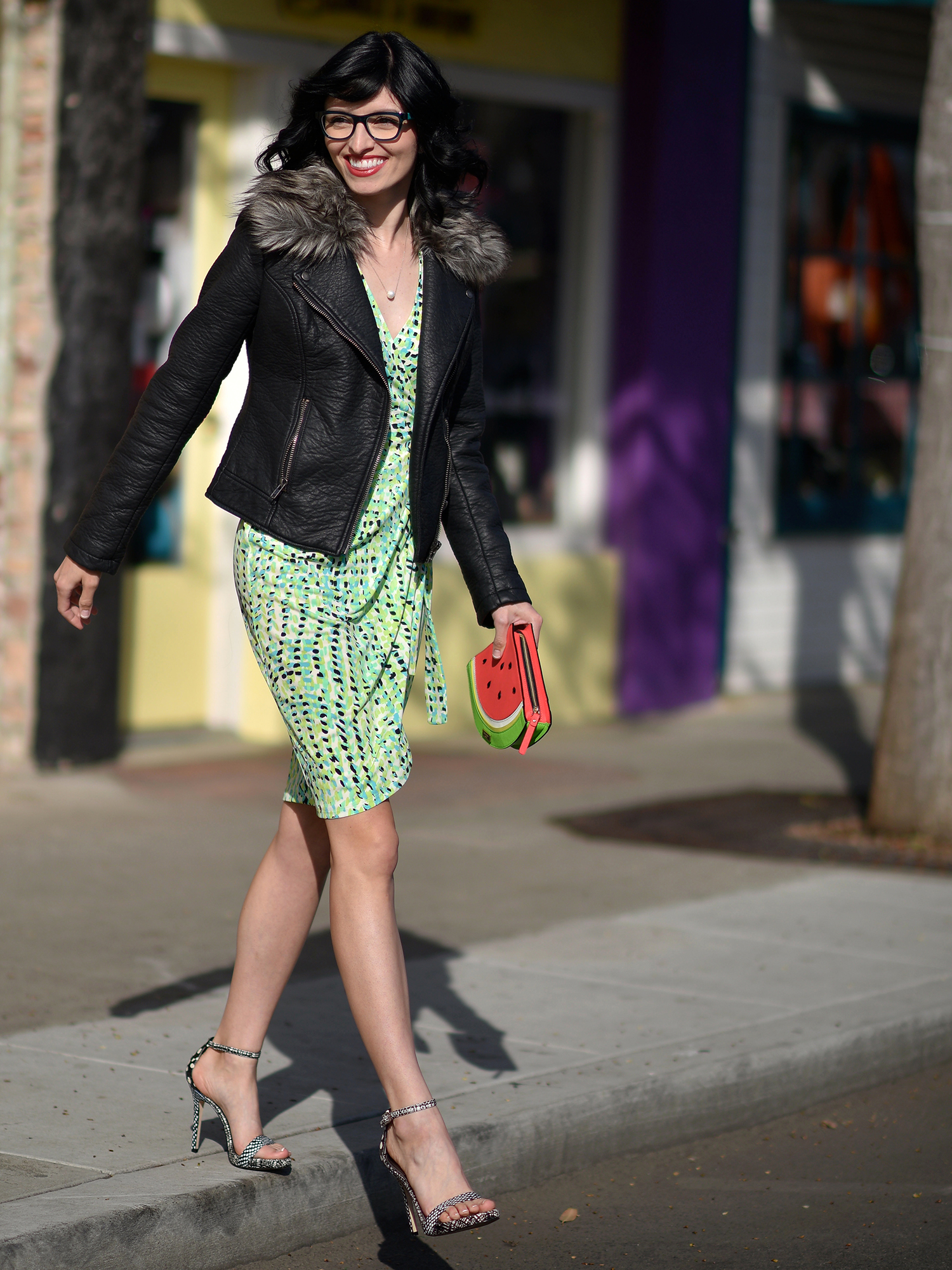 Jenna Pilant Lucky Little Mustardseed Mixing Winter Clothes Into Your Spring Wardrobe