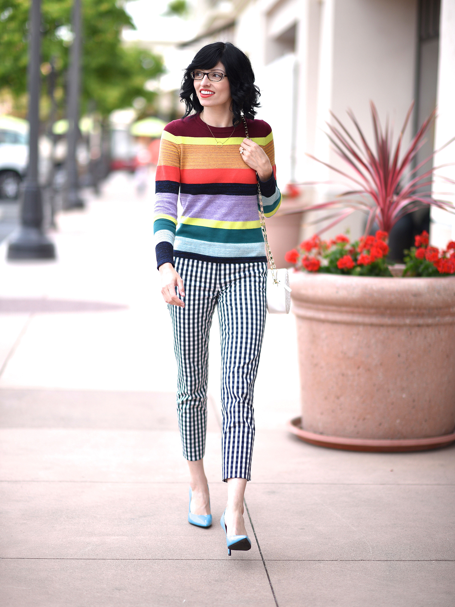 Jenna Pilant Lucky Little Mustardseed How To Mix Pattern Clothing 1
