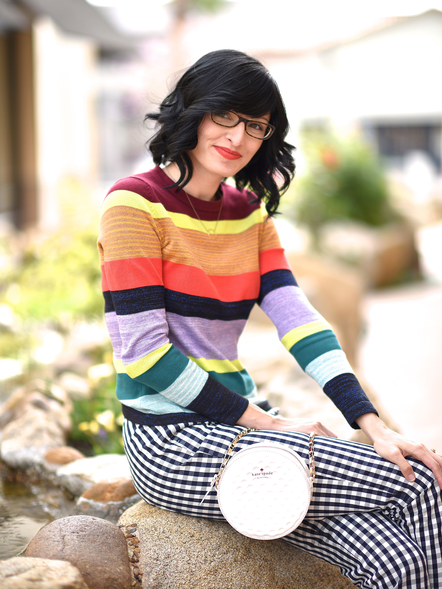 Jenna Pilant Lucky Little Mustardseed How To Mix Pattern Clothing 3