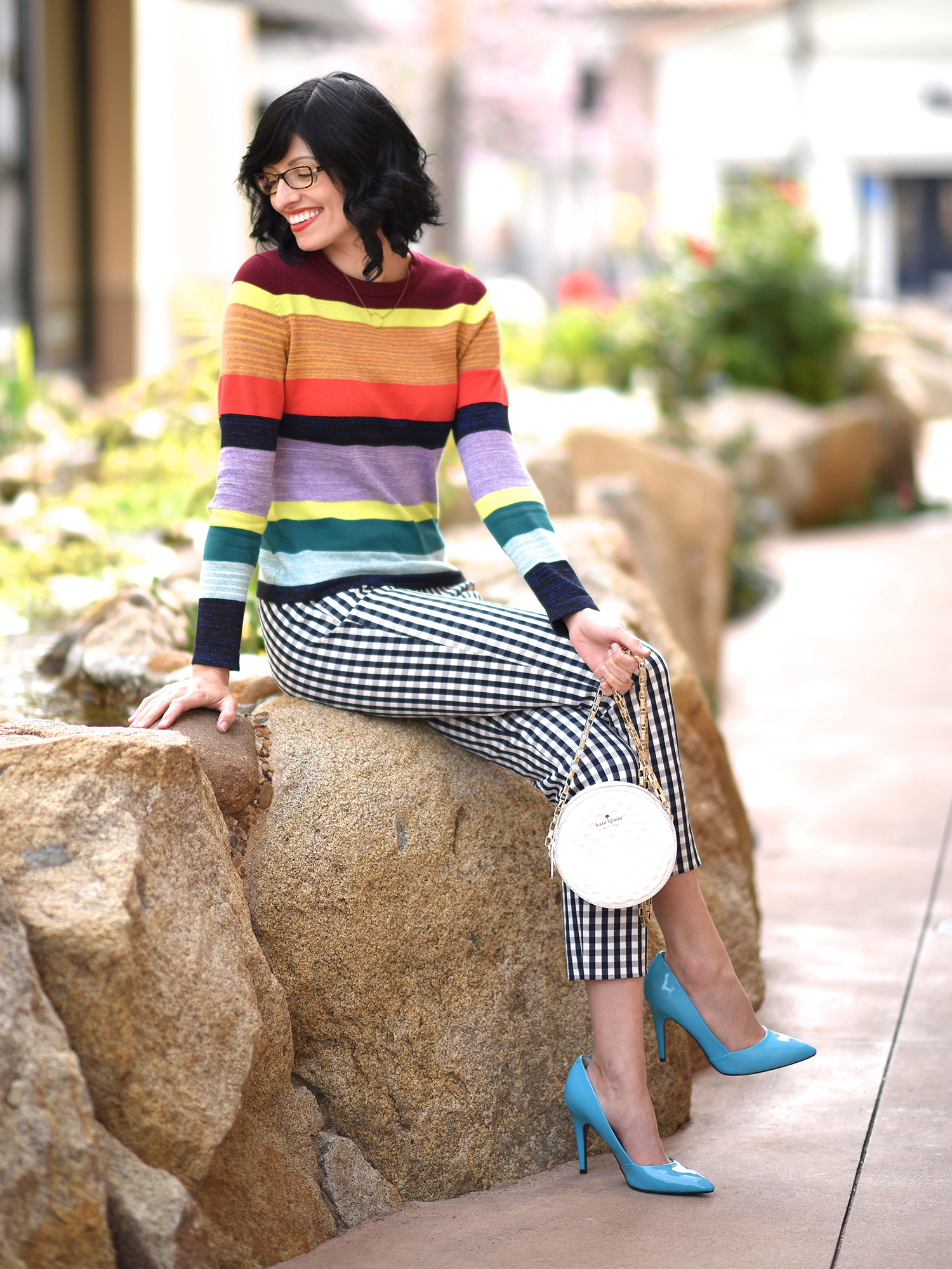 Jenna Pilant Lucky Little Mustardseed How To Mix Pattern Clothing 5