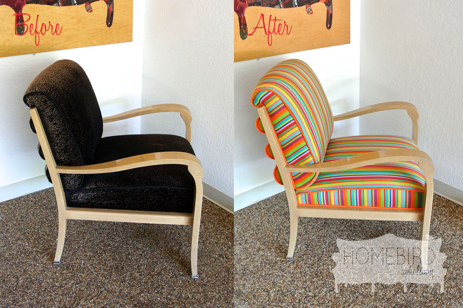 Jenna-Pilant-Homebird-Upholstery-Before-&-After-Picture-of-Upholstery-Recover-From-Drab-To-Fab-Side-Picture