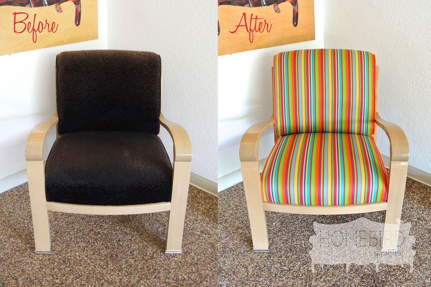 Jenna-Pilant-Homebird-Upholstery-Before-&-After-Picture-of-Upholstery-Recover-From-Drab-To-Fab-Front-Picture