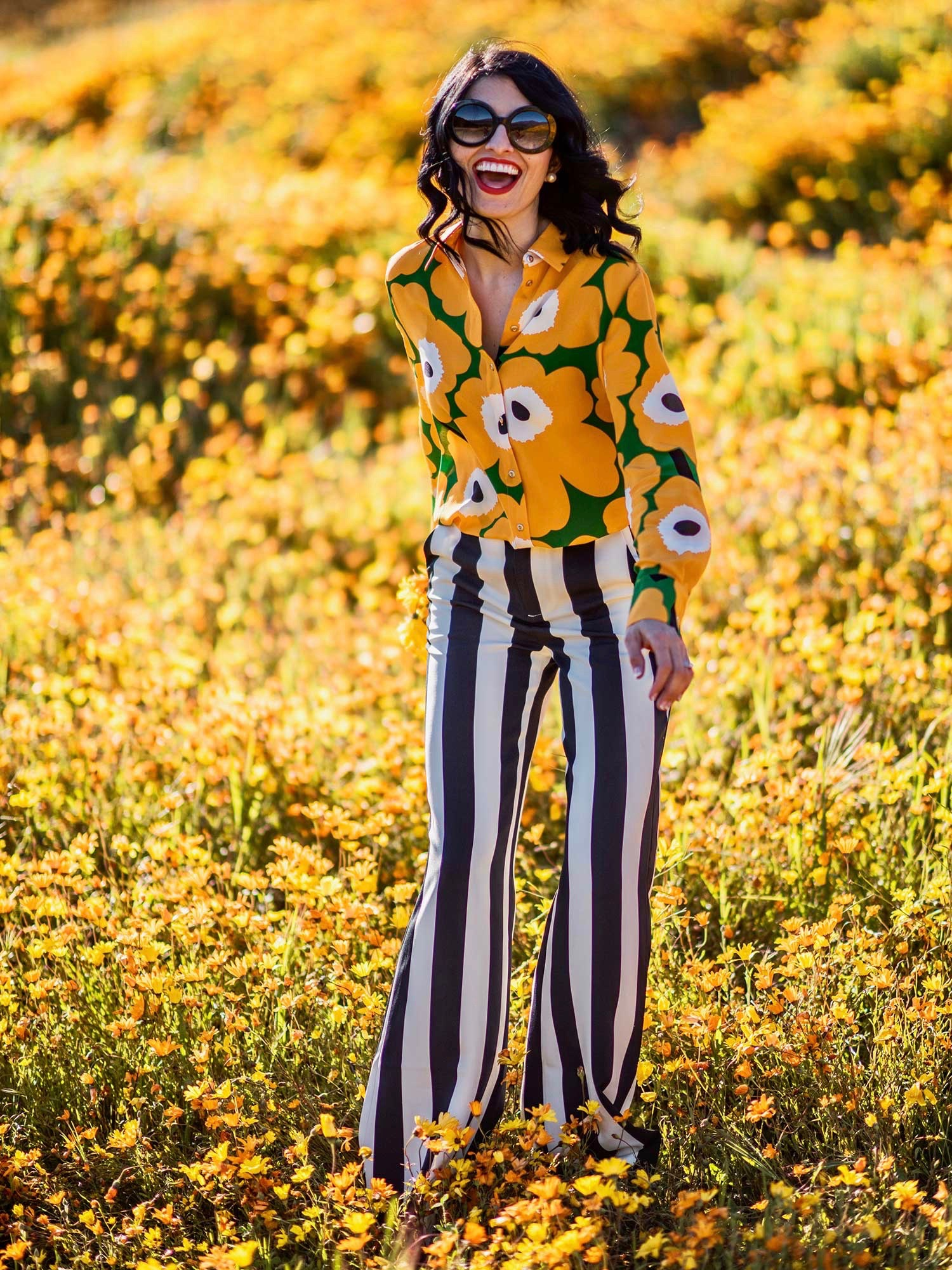 Jenna-Pilant-Style-Blogger-Lucky-Little-Mustardseed-Spring-Fashion-2017-Marimekko-Shirt-with-Alice-and-Olivia-Pants-6-2