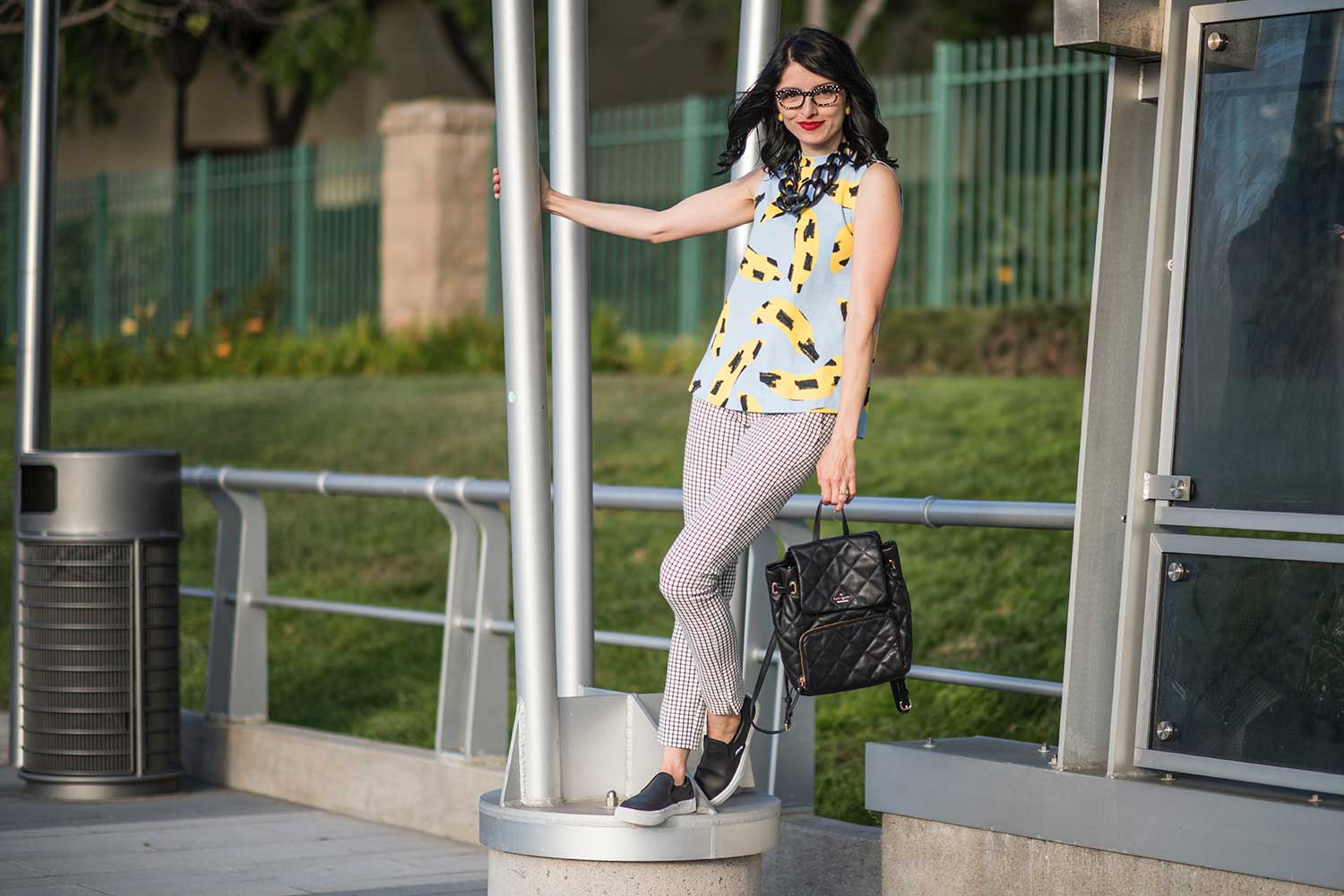 Jenna-Pilant-San-Diego-Style-Blogger-Lucky-Little-Mustardseed-How-To-Wear-A-Banana-Print-2