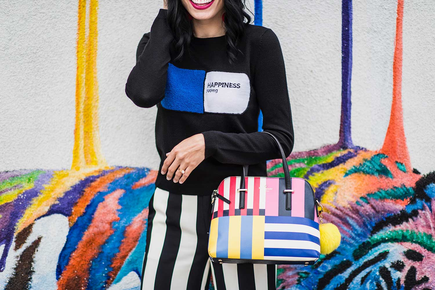 Jenna-Pilant-San-Diego-Style-Blogger-Lucky-Little-Mustardseed-How-To-Wear-Black-&-White-Striped-Pants-2
