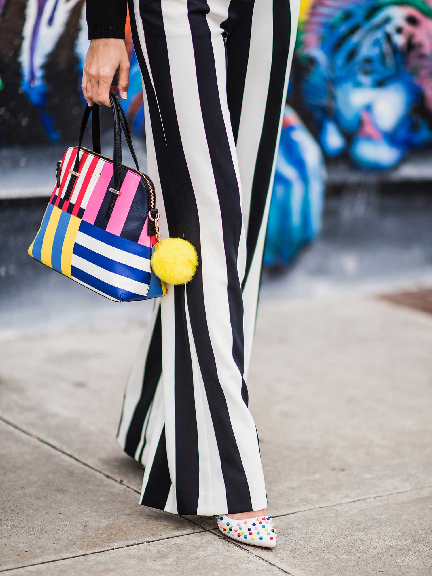Jenna-Pilant-San-Diego-Style-Blogger-Lucky-Little-Mustardseed-How-To-Wear-Black-&-White-Striped-Pants-7